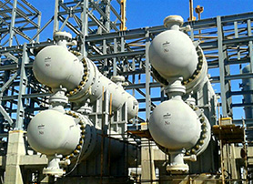 High Pressure & Temperature Heat Exchangers - Isfahan Refinery