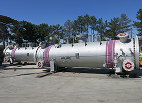 Mechanical Design & Fabricaton of Sulfur Recovery Unit Sulfur Condensers & Reactors